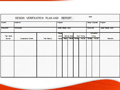 Design Validation Plan Fmea Failure Mode And Effects Analysis Quality One