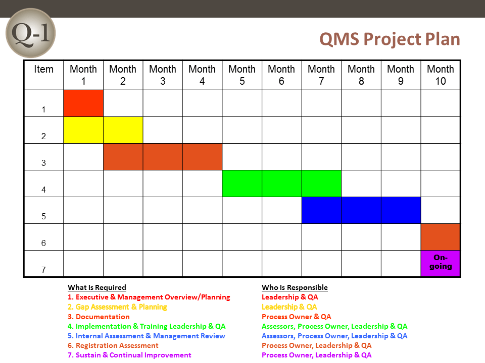 QMS Project Plan